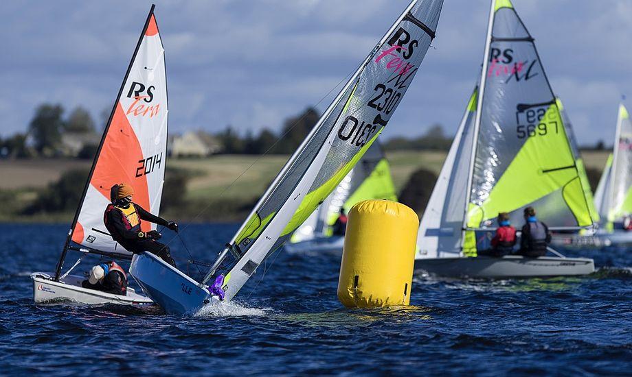 Harboe Cup er nu også en del af Dansk Sejlunions Grand Prix-serie samt junior-/ungdoms-DM for Europajollerne. Foto: Harboe Cup