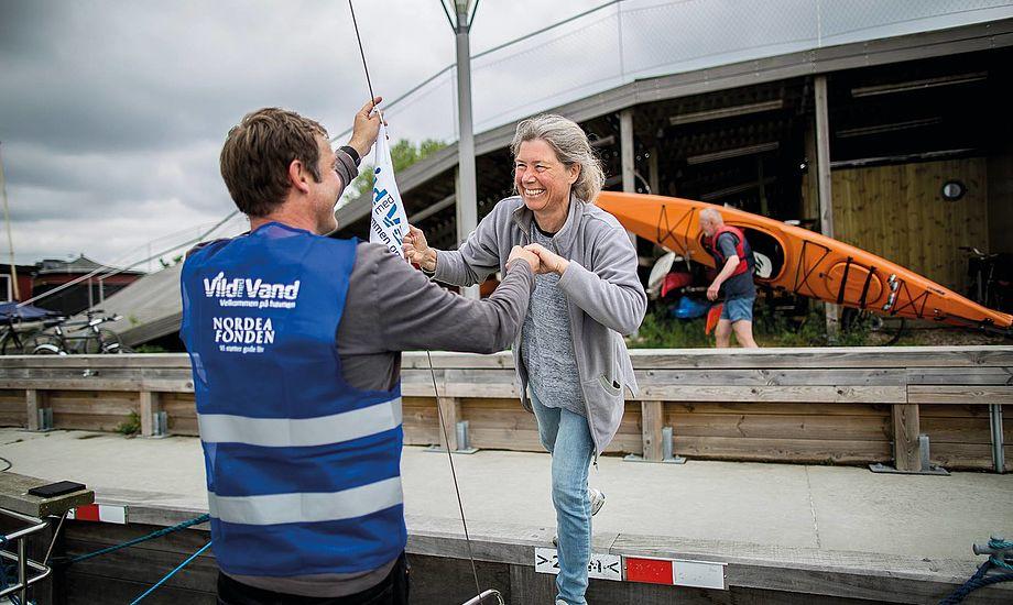 Nordea-fonden har besluttet at støtte Vild med vand projektet med 5,4 mio. kr. for en toårig periode frem til udgangen af 2020. PR-foto