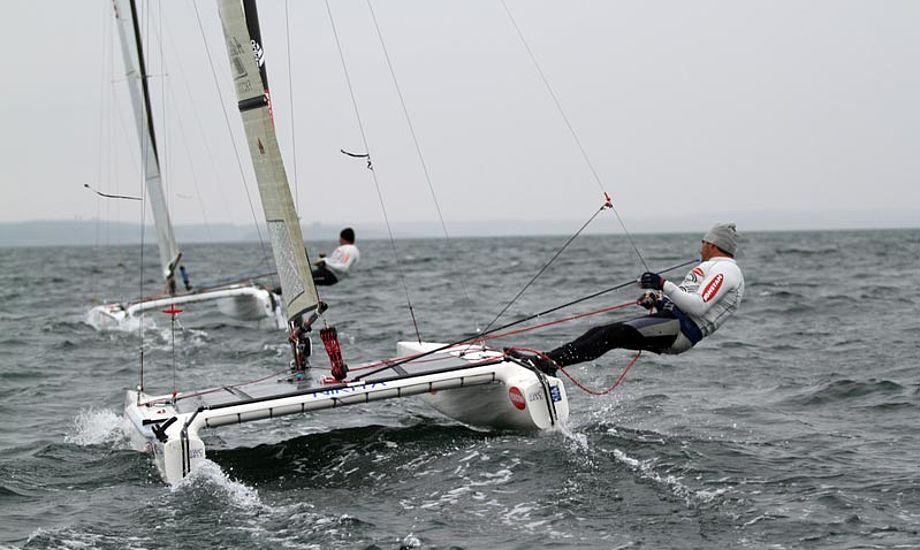 Du kan følge sejladserne ved Århus live. Foto: sailing-aarhus.dk