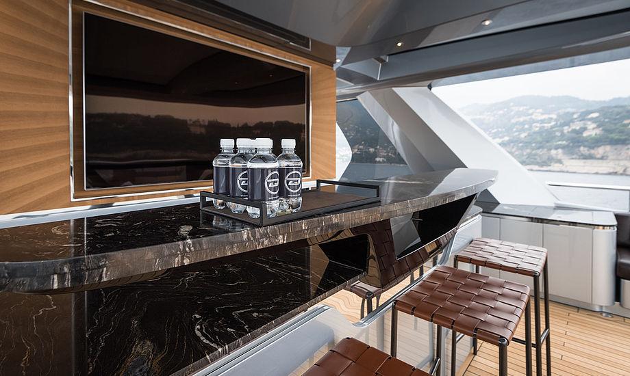Magma skal levere sten og marmor til Dynamiqs yachts. PR-foto.