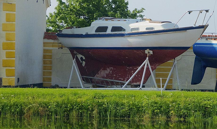 Bianca 27 på bådmuseet på Tåsinge. Foto: Søren Stidsholt Nielsen, Bianca27.net