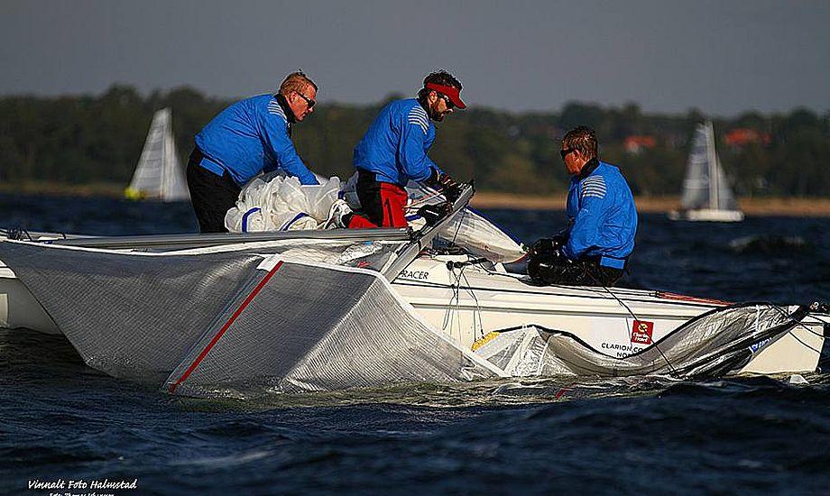 Både Nordiske Mesterskab og Nordic Sailing League blev afgjort i Halmstad, Sverige. Foto: Daniel Stenholm.