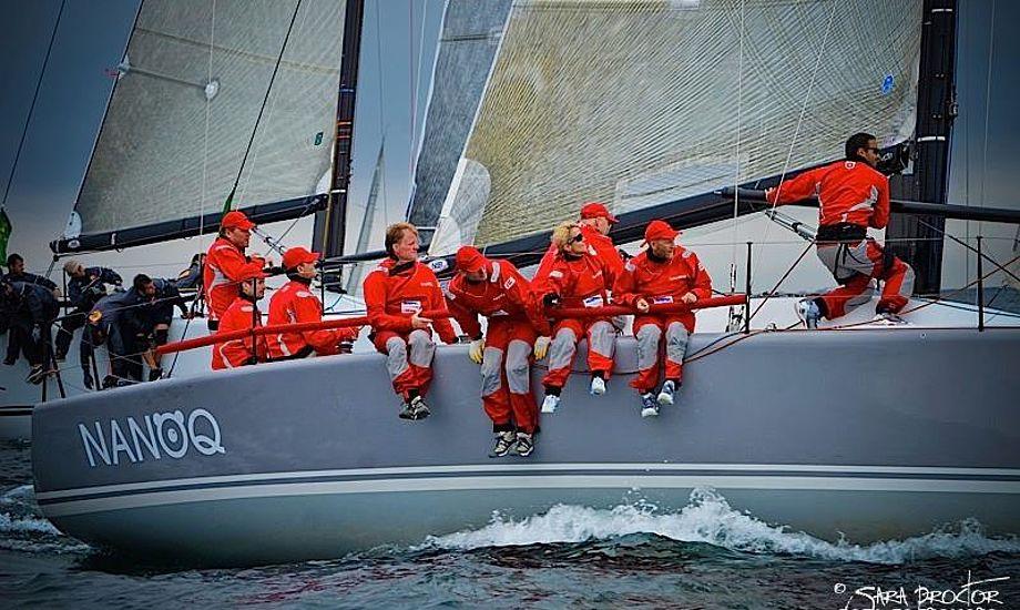 Drage-sejler og North Sails-direktør Jens Christensen står helt tilbage og rådgiver Kronprinsen