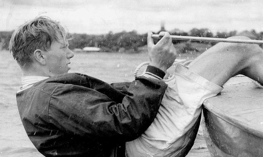 Paul Elvstrøm vil for altid være et ikon i sejlsporten. Måske det største, netop på grund af hans kreativitet. Foto: Elvstrøm Sails