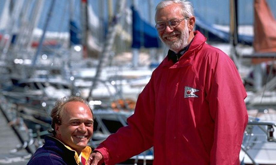 Paul Elvstrøm vandt blandet andet fire olympiske guldmedaljer. Foto: Arkivfoto
