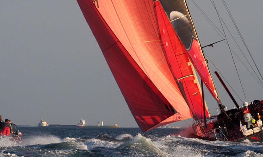 Puma Ocean Racing på Øresund