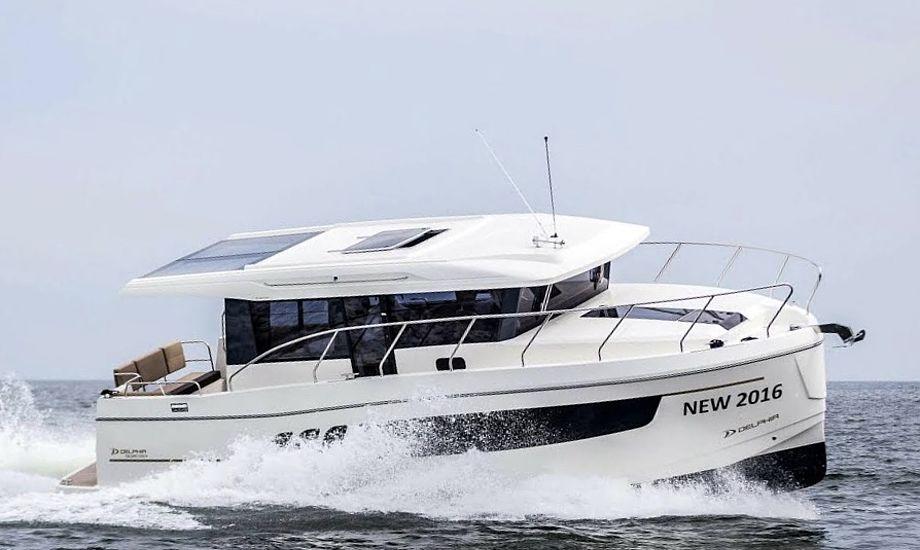 Delphia E1150 Voyager er populær og fås fra  1.375.000 kroner. Foto: Baadhuset