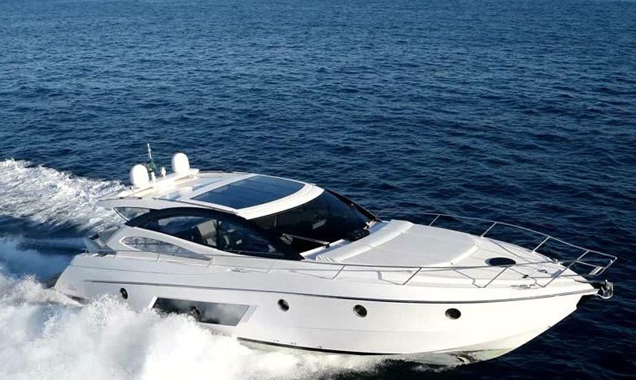 Det er ikke denne motorbåd, der er tale om i artiklen. Motorbåden, der er ejet af danskeren var forsikret for 2,6 mio. kr. i Maritim Club 09. Arkivfoto