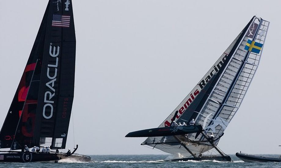 AC45 har i den grad givet Americas Cup en tiltrængt saltvandsindsprøjtning, vent bare til AC72 står klar. Så bliver det vildt. Foto: americascup.com/Gilles Martin-Raget