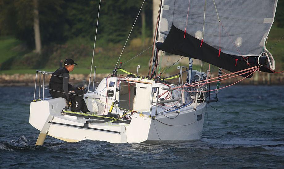Som den populære Silverrudder-sejlads skal også Anholt Lone Star sejles efter de almindelige søvejsregler. Foto: Troels Lykke