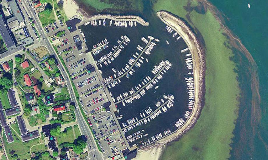 Vedbæk Havn har 140 både liggende i vandet om vinteren og der er plads til endnu flere.