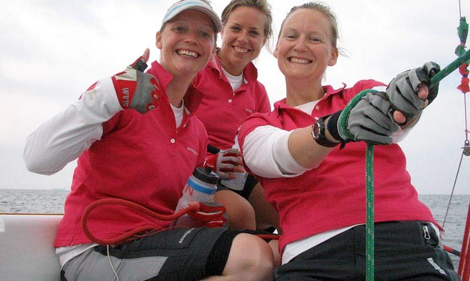 Team Ulrikkeholm: Camilla Ulrikkeholm, Josefine Boel Rasmussen, Louise Ulrikkeholm, Sara Keir.