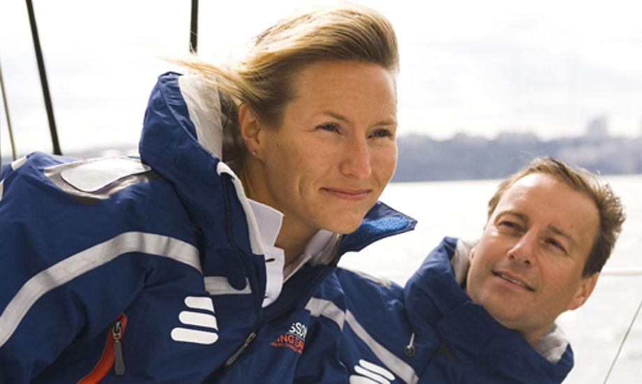 Ericsson-holdene i Volvo Ocean Race brugte også Helly Hansen. PR-foto