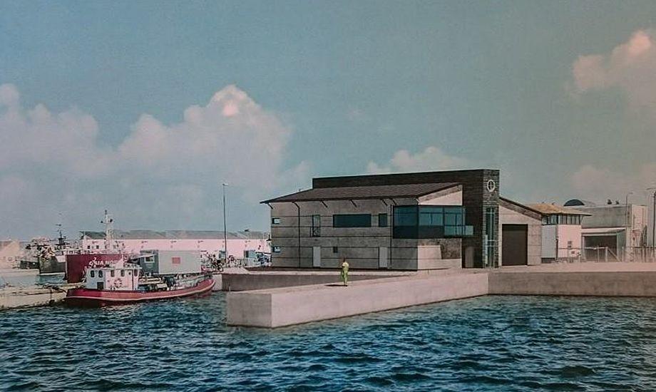 Den nye redningsstation i Skagen forventes at stå klar til april.