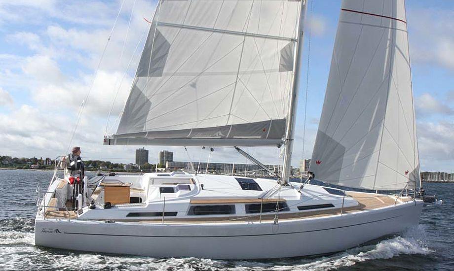Se den nye Hanse 345 på Fredericia Boat Show. Foto: Troels Lykke