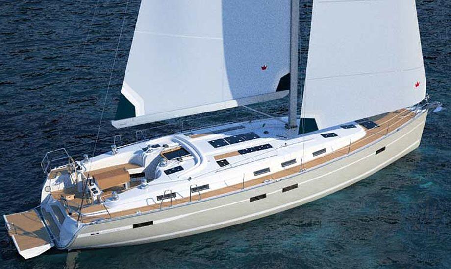 Bavarias nye 50 fods Cruiser tegnet af Farr, præsenteres på messen i Dusseldorf i slutningen af måneden. Foto: bavaria-yachtbau.com