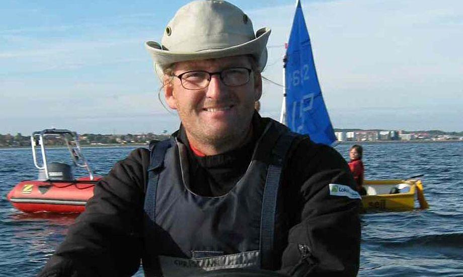 Christian Hangel brænder især for ungdomsarbejdet. Foto: Frederikssund Sejlklub