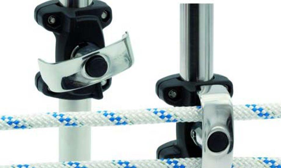Seldéns søgelænderblok til rullesystem gør det meget enkelt at montere manøvrelinien til en genakkerrulle så man minimere friktion og gør indrulningen meget lettere