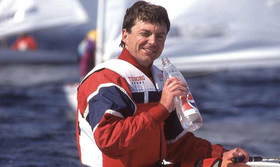 Bjørn Westergaard startede i Optimisten som otteårig, mens han vandt sit første klubmesterskab som 10-12 årig. Foto: Dansk Finnjolle Klub