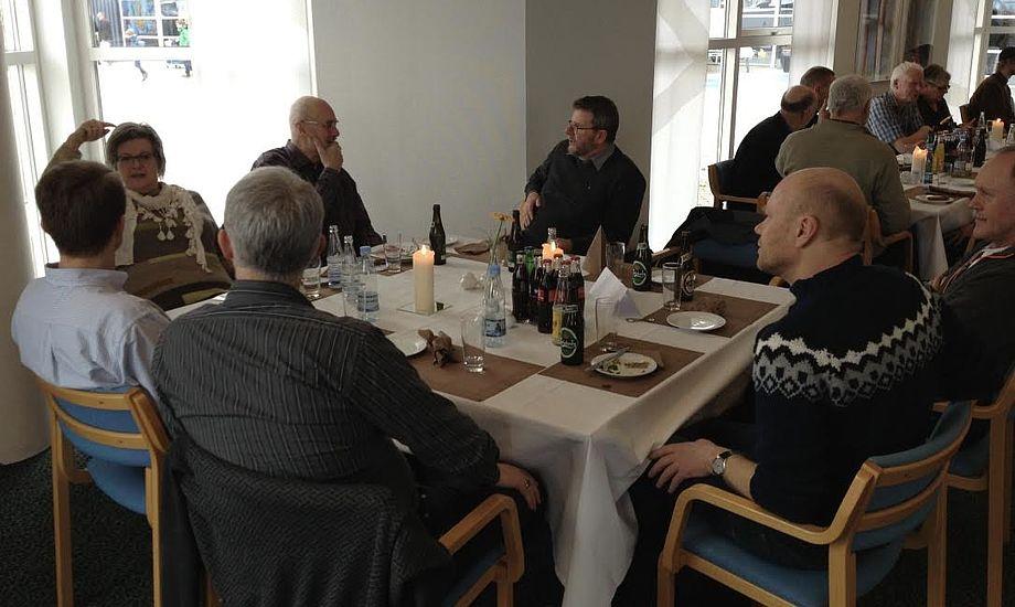 Larsen-klubben har gode erfaringer med at samle klassen på Boat Show. Foto: Dansk Larsen Klub