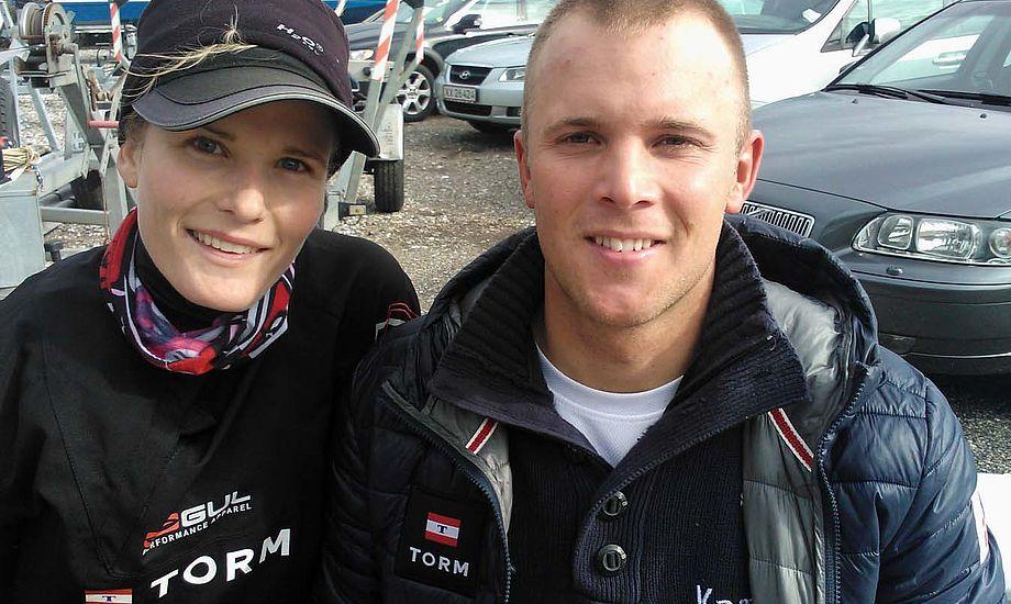 Sara Gunni og Thorbjørn Schierup bor nu sammen i København. Foto: Troels Lykke