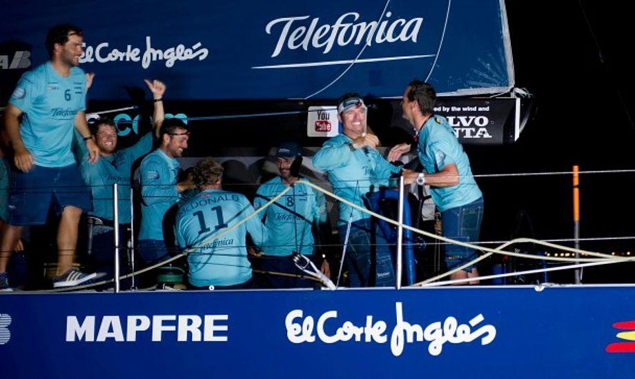 De vinder ikke Volvo Ocean Race, sagde Bouwe Bekking til minbaad.dk om Telefonica der dog igen har vundet.
