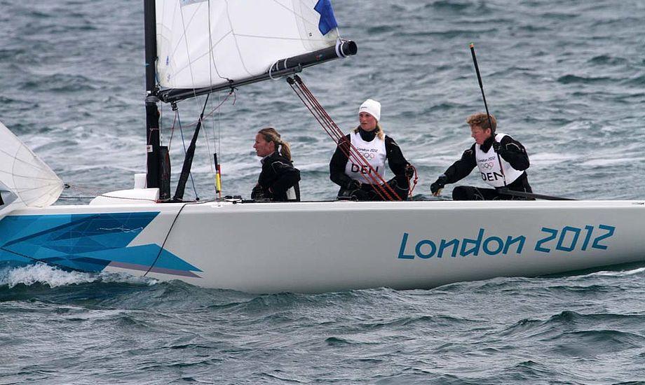 Team Meldgaard hænger i en tynd tråd, men de har stadig mulighed for at gå videre. Foto: Troels Lykke