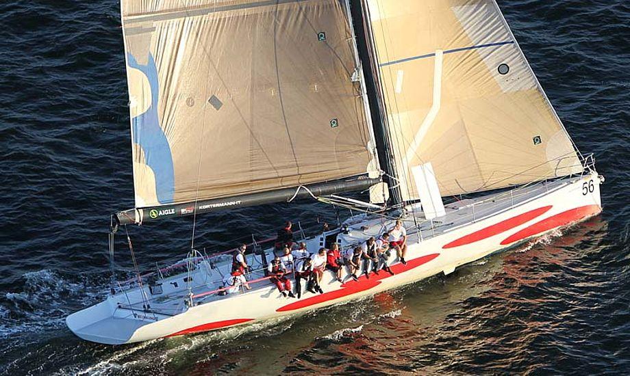 Det er på denne båd, Big Challenge fra Svendborg, at undervisningen skal foregå. Foto: Troels Lykke