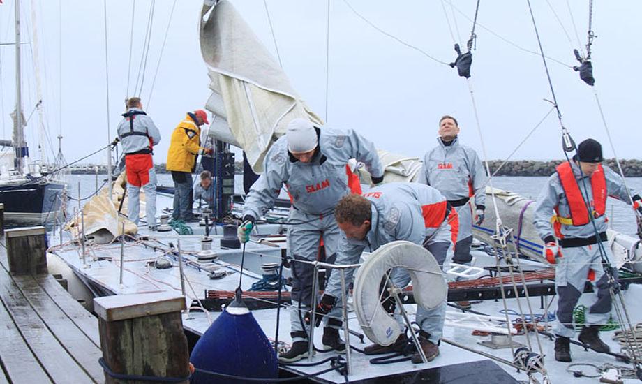 First Marine i Kerteminde Havn, hvor den tidligere Nokia-båd hører til. Foto: Ove Gorm Larsen