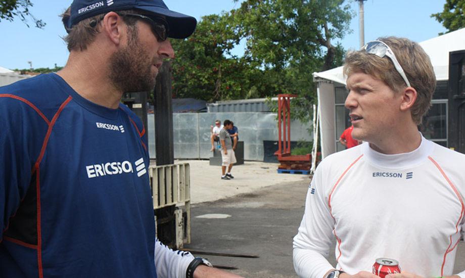 Jens Dolmer sejlede med på Ericsson under sidste Volvo Ocean Race, der igen starter om få uger. Foto: Troels Lykke