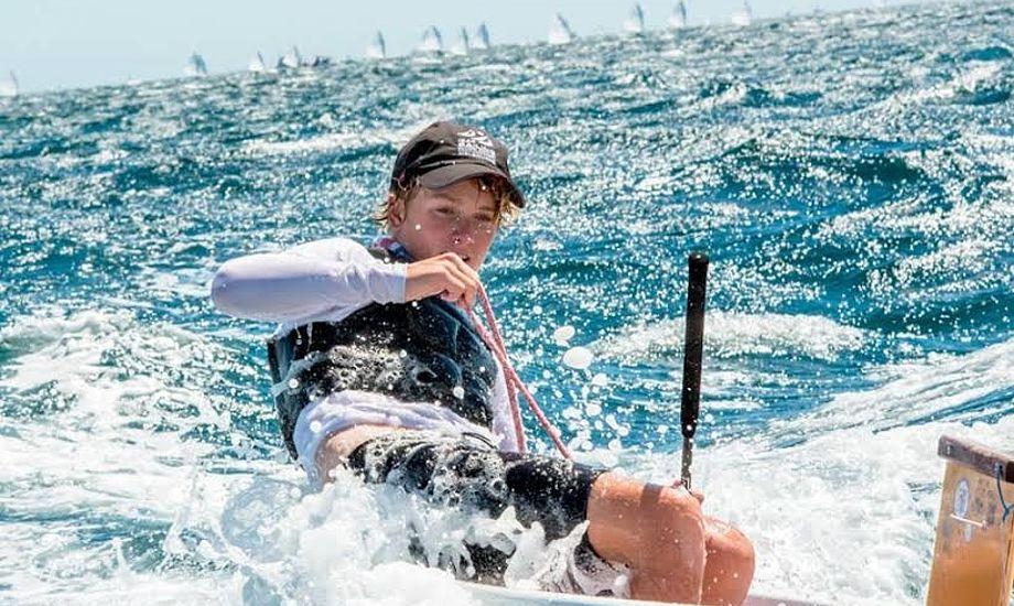 Blandt andet Opti-sejlerne skal kæmpe om landsholdspladser i Faaborg. Foto: Faaborg Sejlklub