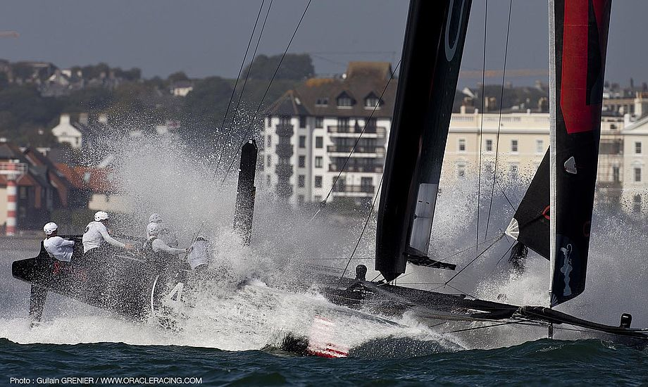 Her ses ORACLE til ACWS i Plymouth. Foto: Guilian Grenier