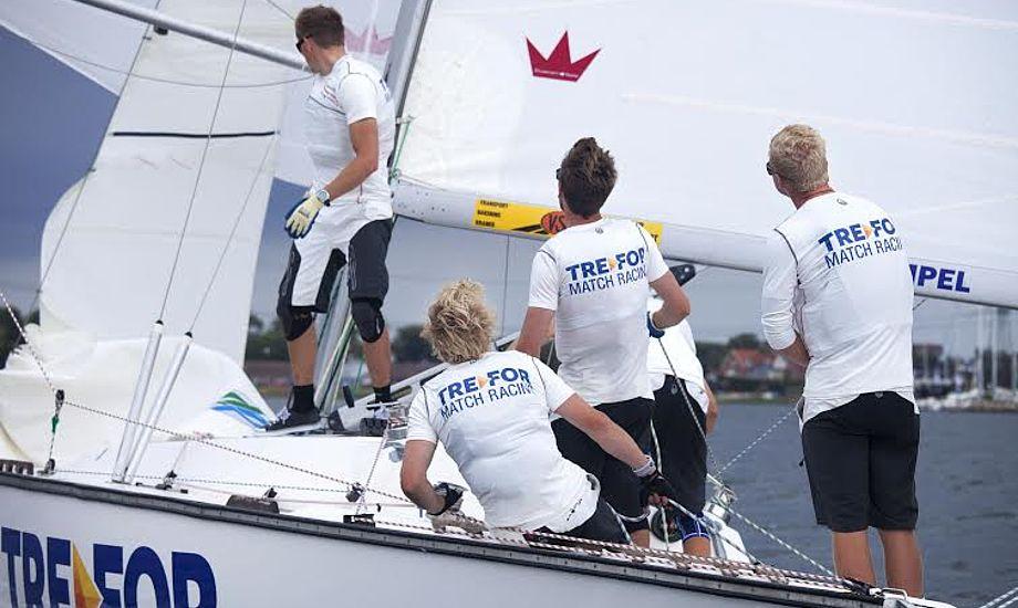 Det danske team satser på at havne blandt de fire bedste stævnet i Polen. Foto: Jess Anderson