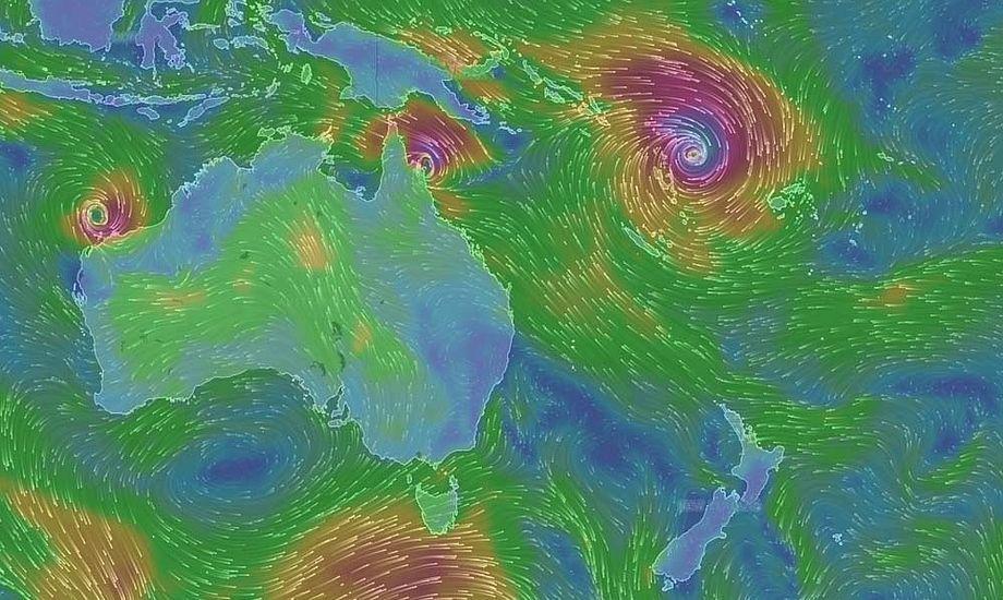 Bouwe Bekking fortalte i går til minbaad.dk at vinden skulle kunne skabe 20 meter høje bølger.