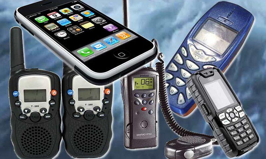 Under uheldige forhold rækker en håndholdt VHF alligevel ikke langt. Så hvad stiller vi op i jollen eller  RIBen.