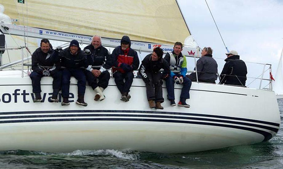 X-35 besætning fra Kerteminde i Palby Fyn Cup Foto: Troels Lykke