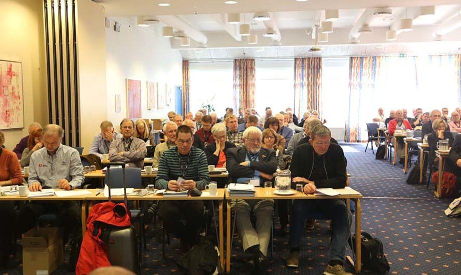 Generalforsamling i Dansk Sejlunion i Odense i år. Foto: Troels Lykke