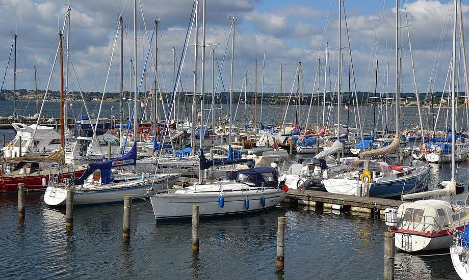 Nu vil vi for eksempel kunne etablere en fortøjningspæl uden at søge om tilladelse, lyder det fra Sæby Havn. Her ses foto fra Lemvig. PR-foto