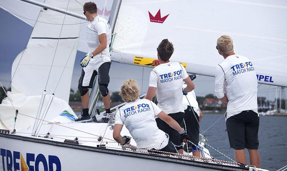 Det er første gang, at GITS går aktivt ind i sejlsporten med et sponsorat.