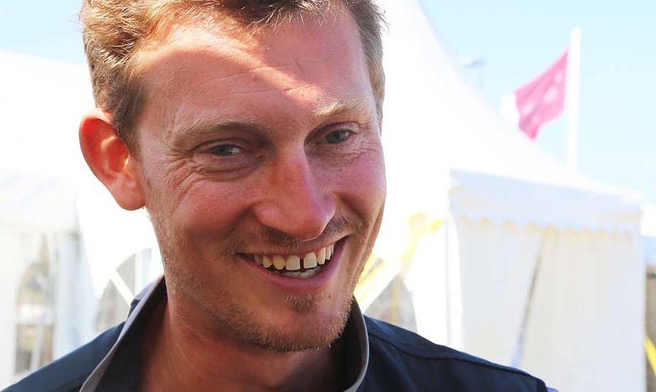 Martin Kirketerp knokler for at blive attraktiv til Volvo Ocean Race igen. Foto: Troels Lykke