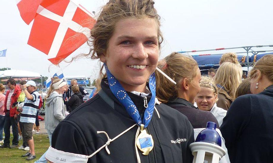 13-årige Anna Munch vandt VM for Zoom8 i Finland. Foto: Jette Skiveren