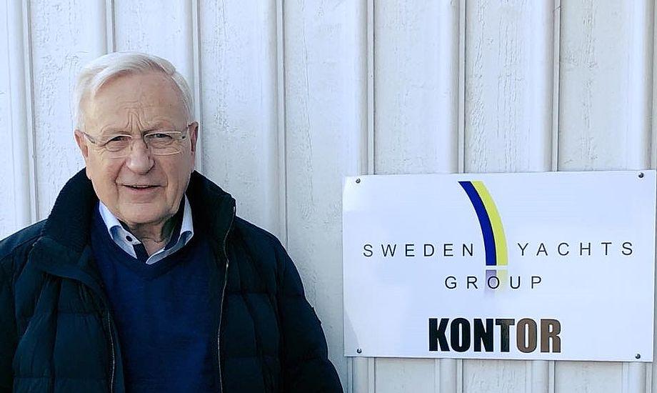 Ebbe Borg fra KMC i Kolding får nu fire nye bådmærker ind i stedet for Najad, der netop har købt Arcano Yachts. PR-foto
