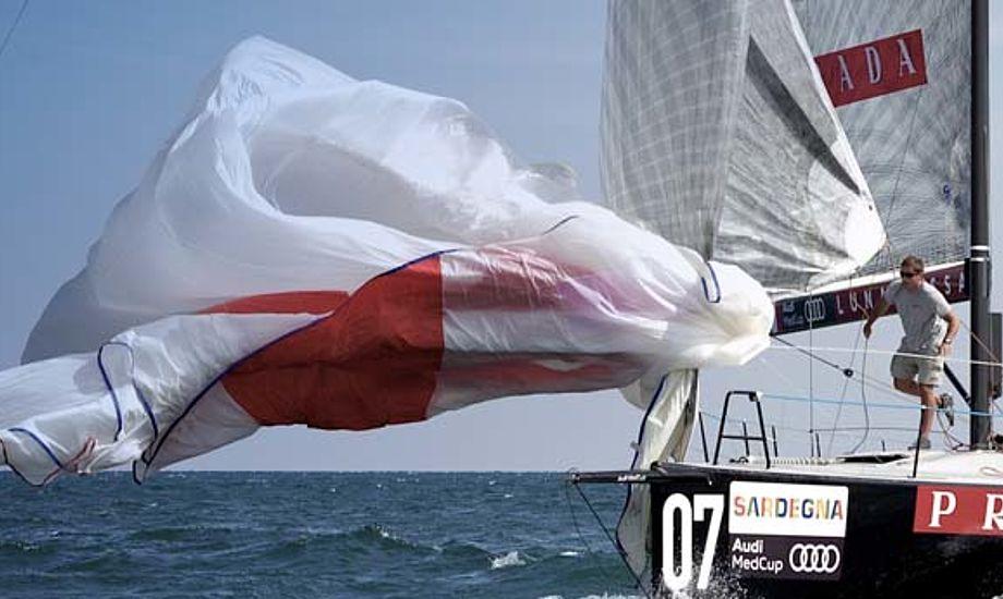 Prada-båd på Sardinien i denne uge.