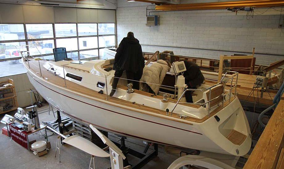 I november var der åbent hus i Skærbæk hos Faurby Yacht. Foto: Troels Lykke