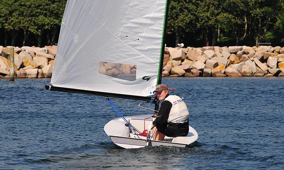 Mathias Livbjerg er et kæmpe talent i sejlsport. Foto: Sejlerlinsen