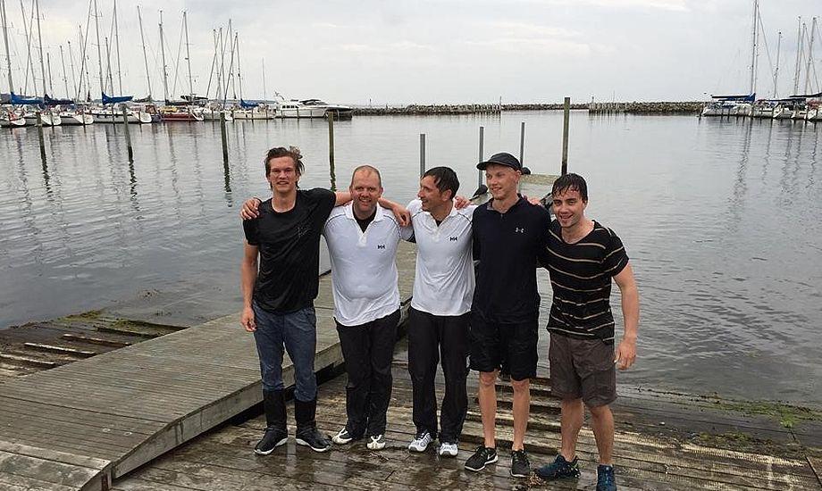 Nu nordisk og dansk mester blev H.C. Erbs med gasterne Bjarne Pedersen, Hans Frederik Klint, Mikkel Ebbesen og Anders Brandi Yde.