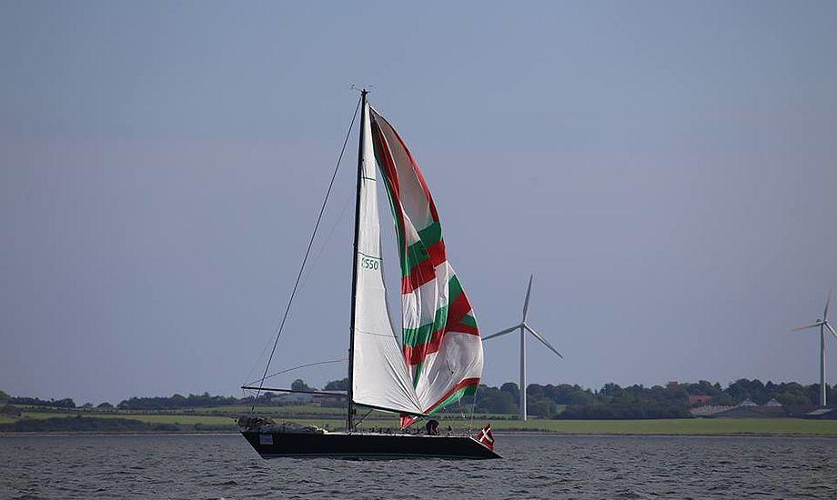Magic Maestro, en tung IOR-båd med skipperen Ole kæmpede længe med spileren. Foto: Troels Lykke