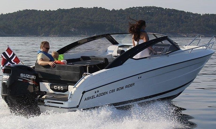 Askeladden C65 Bowrider kan købes fra 479.900,00 kr. Foto: PR-foto