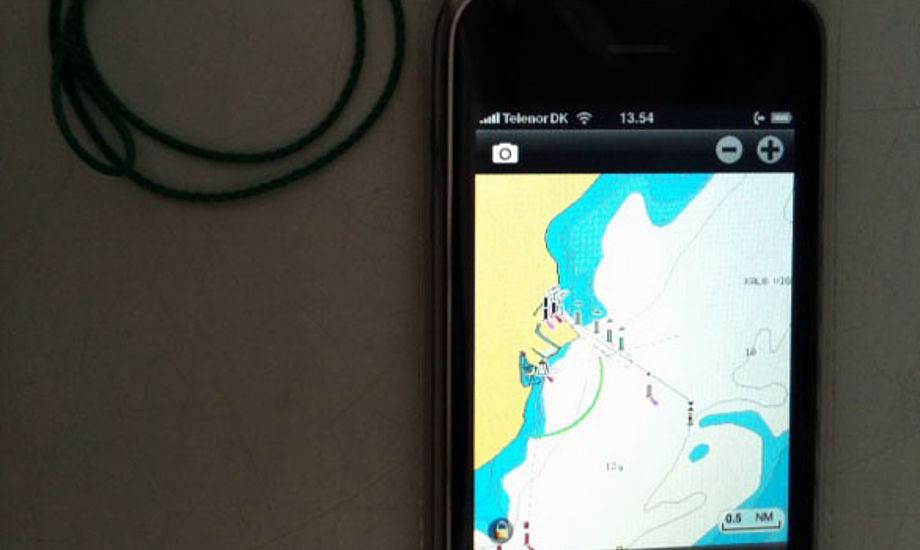 iphone til sejlere