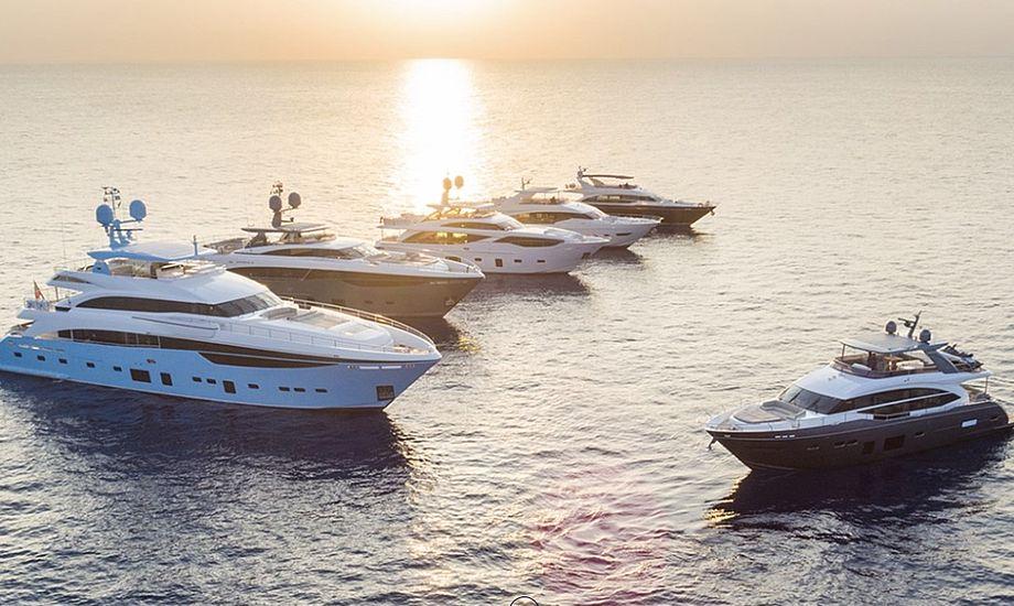 Flere nye yachter er blandt grunden til 2017-succesen. Foto: Princess Yachts